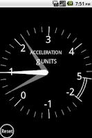 Screenshot of Aircraft G Meter