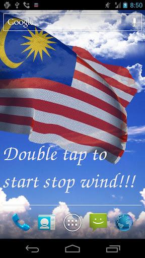 3D馬來西亞國旗