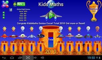 Screenshot of Kids Maths