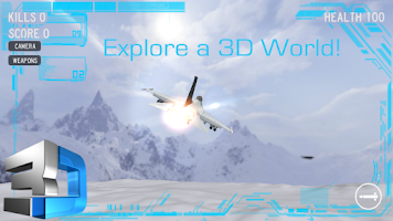 Screenshot of Jet Fighter - Dogfight 3D