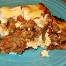 Turkey and Pepper Moussaka