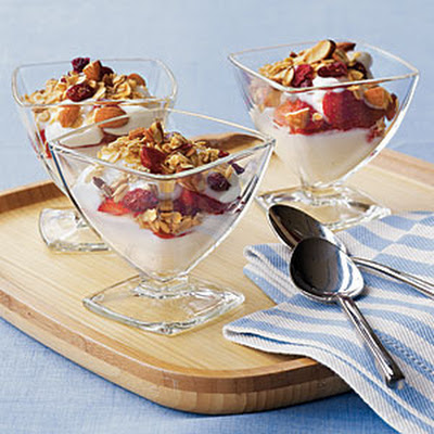 Yogurt Sundaes