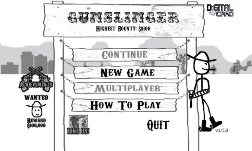 Gunslinger - screenshot