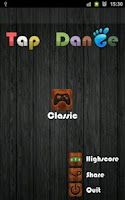 Screenshot of Tap Dance - The Simplest Game