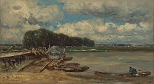 RIJKS: Willem Roelofs (I): painting 1889