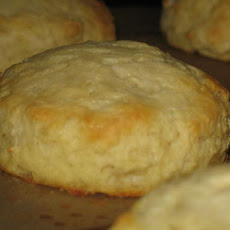 Yogurt-Cream Biscuits