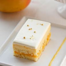 Mango Passion Fruit Cake