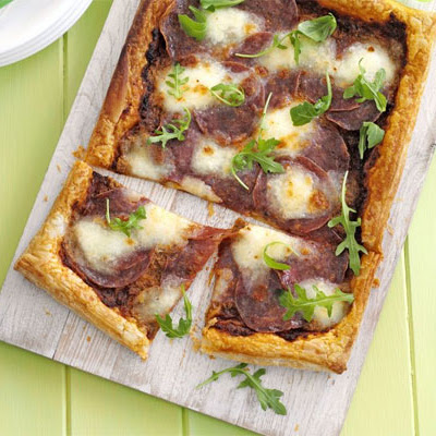 Puff Pizza Tart