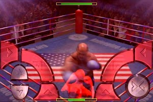 Screenshot of International Boxing Champions