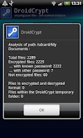Screenshot of Droid Crypt