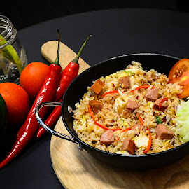 Fried Rice by Widhie Kristiyanto - Food & Drink Eating