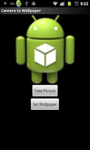 Camera to Wallpaper