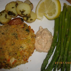 Crab Cakes - Lightened Up