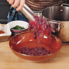 Bacon-and-Honey Red Cabbage