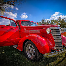Classic Ride by Ron Meyers - Transportation Automobiles