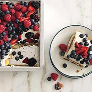 Italian Fruit Tiramisu Recipes