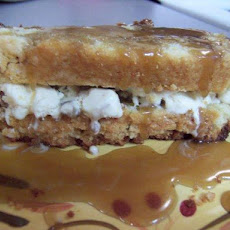 Praline Ice Cream Cake Sandwiches