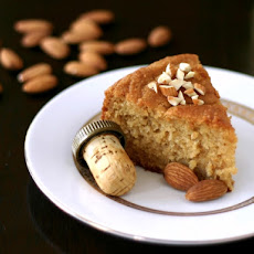 Rum-Drenched Almond Pound Cake