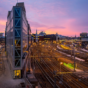 Morning in Stockholm by Dan Westtorp - Buildings & Architecture Architectural Detail