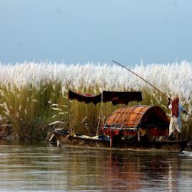 through the nature beauty by Santanu Dutta - Transportation Boats (  )