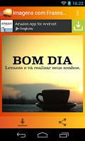 Screenshot of Imagens com Frases de Bom Dia
