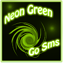 Neon Green Style Go Sms icon