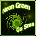 Neon Green Style Go Sms icon