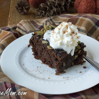 Crock Pot Gluten-Free Chocolate Pumpkin Cake