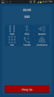 Screenshot of gTalk PBX