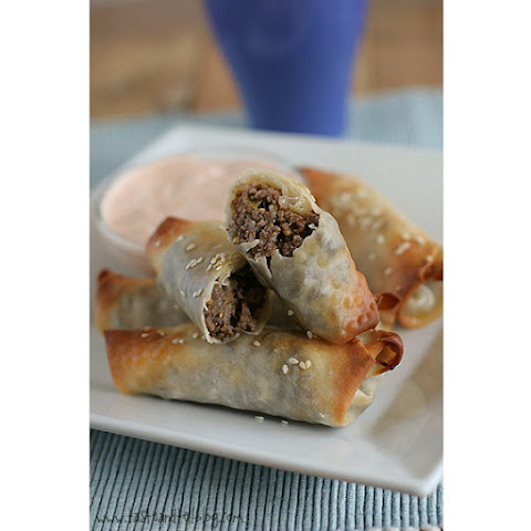 Saturdays with Rachael Ray – Cheeseburger Eggrolls