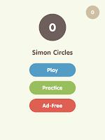 Screenshot of Simon Circles