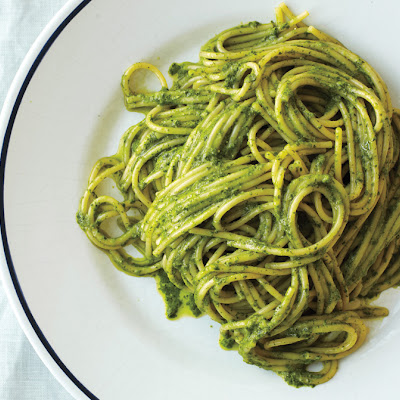 Ligurian Pesto with Spaghetti