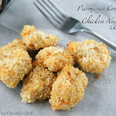 Parmesan Crusted Chicken Nuggets