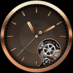 Golden Beauty Watch Face