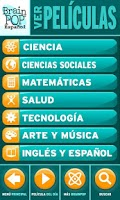 Screenshot of BrainPOP: Película del Día