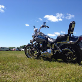 Summer day by Scott Southwick - Transportation Motorcycles ( summer, motorcycle )