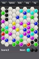 Screenshot of Hexa Lines