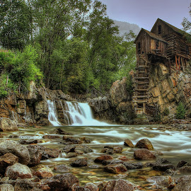 Crystal Mill by Ryan Smith - Buildings & Architecture Decaying & Abandoned