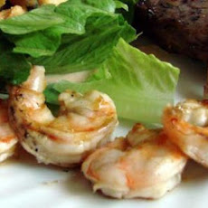 grilled rummy shrimp