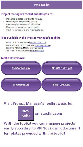 Project Management Toolkit PRO