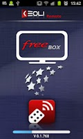 Screenshot of Keoli Remote FreeBox