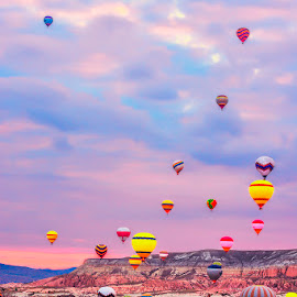 Colorfull by Indrawaty Arifin - Transportation Other ( baloons, morning,  )