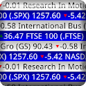Stock Ticker Tape Pro Widget icon