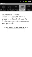 Screenshot of Salford City Council