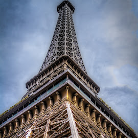Eiffel Tower by Glenn Forrest - Buildings & Architecture Statues & Monuments ( las vegas, paris, eiffel tower, detail, monument, france )