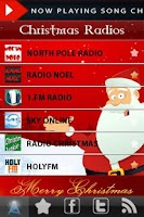Screenshot of Christmas Songs Radio