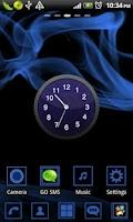 Screenshot of Blue Wind Theme Go Launcher