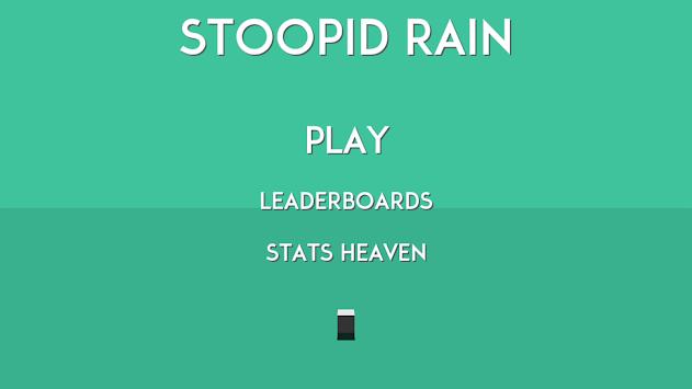 Stoopid Rain - Free apk screenshot