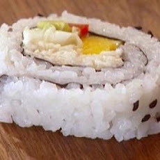 Crab, Avocado, & Mango Sushi Roll