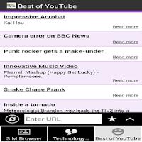 Screenshot of S.M.Browser
